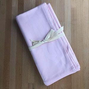 Other - Imported French Square Tablecloth - Baby Pink